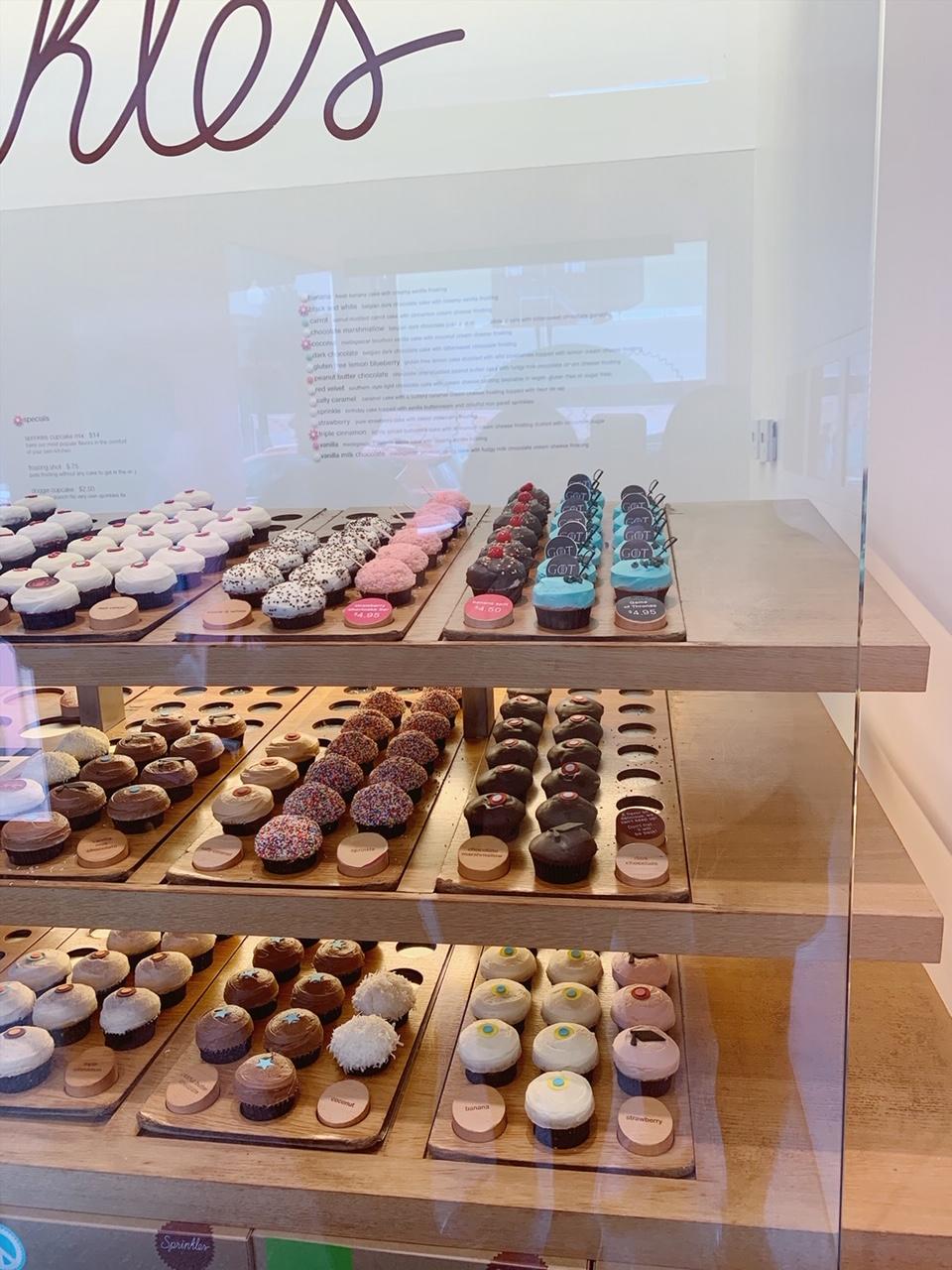Sprinkles Cupcakes Game of Thrones
