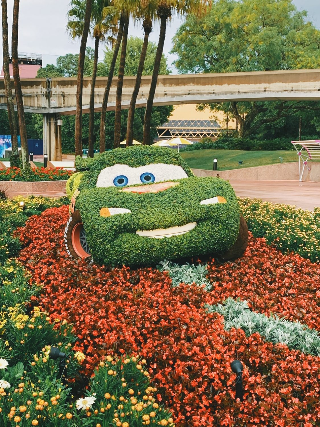 Epcot International Flower & Garden Festival Topiary