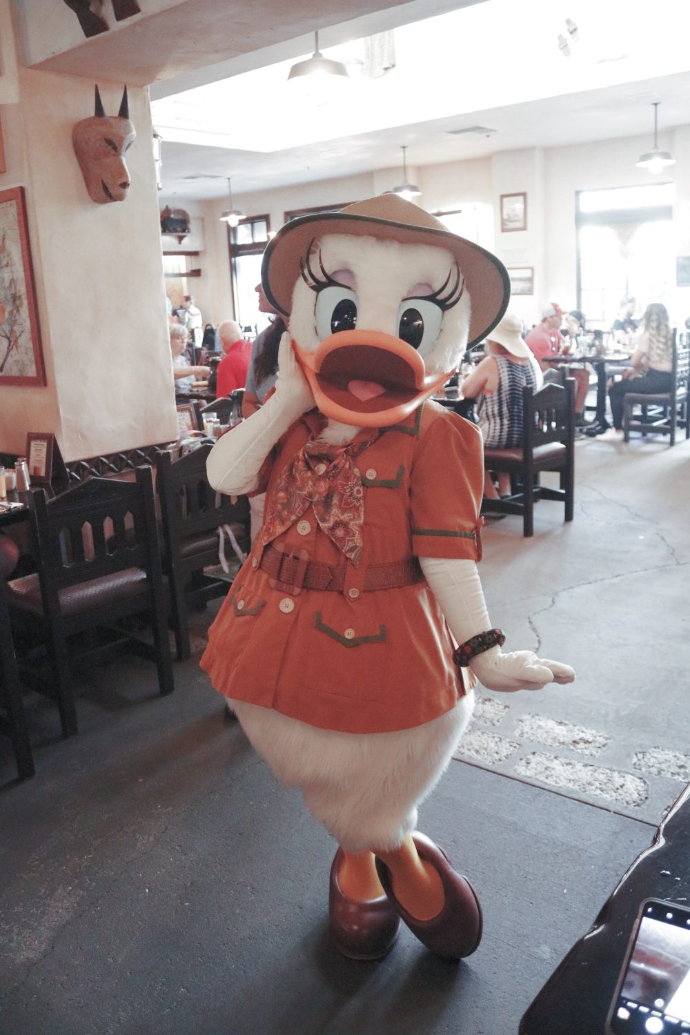 Breakfast at Tusker House Restaurant Character Dinning at Disney World