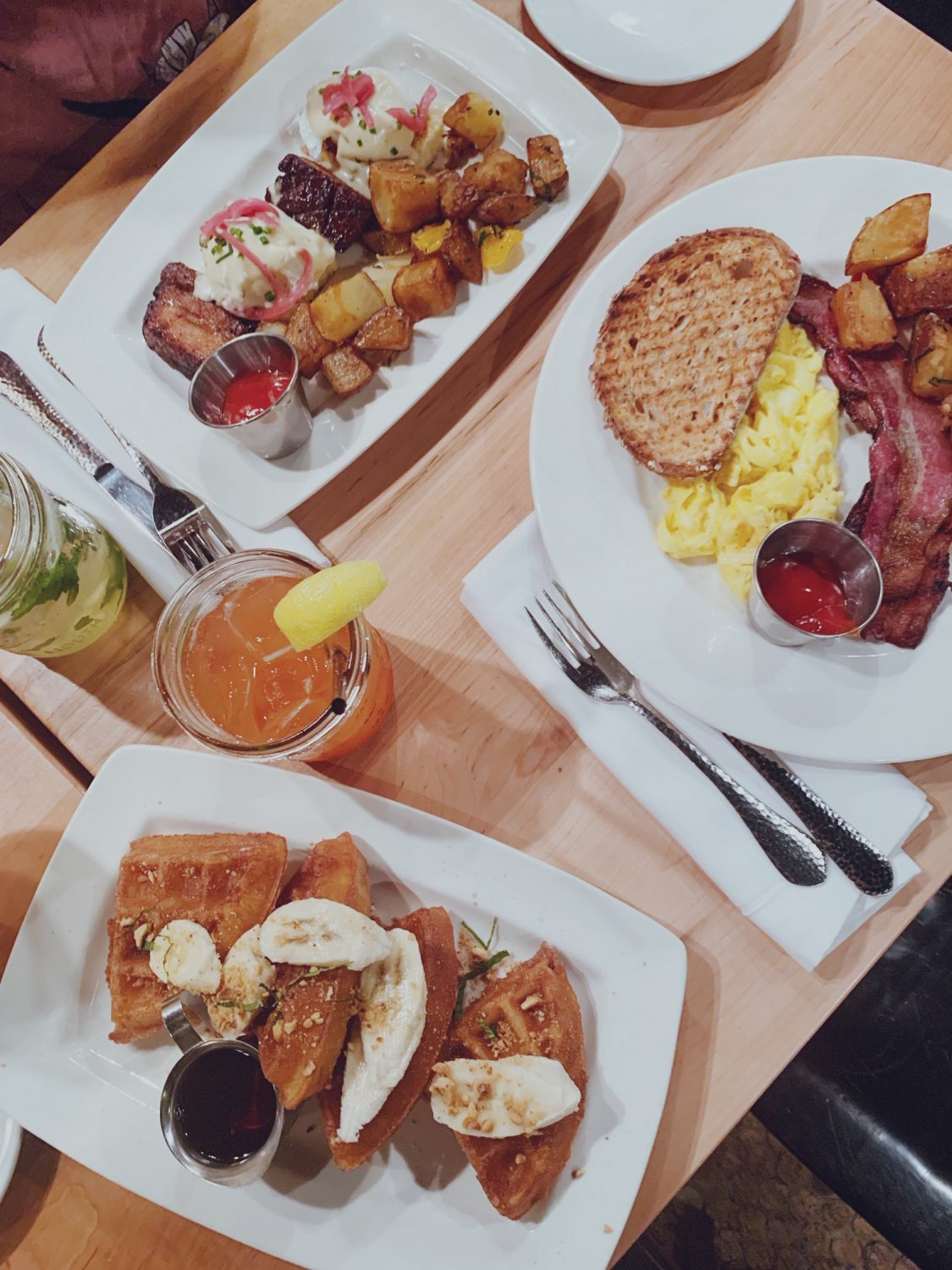 Brunch at White Dog Cafe in University City, Philadelphia
