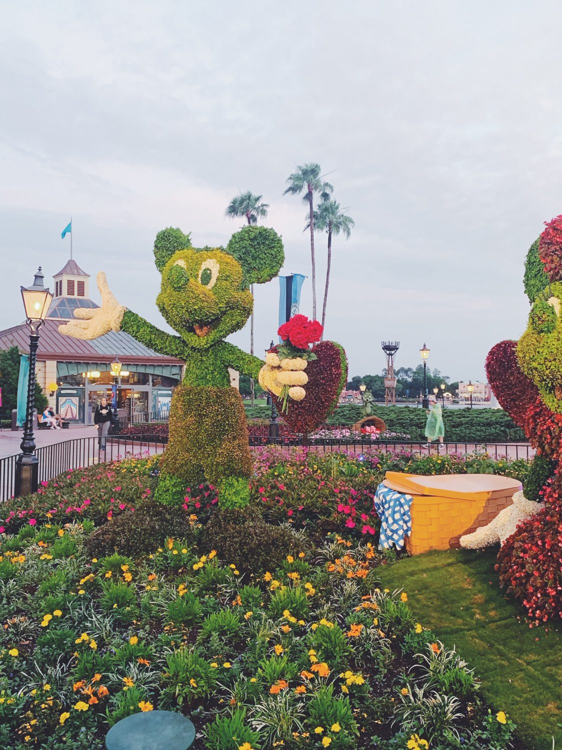 Epcot International Flower & Garden Festival Mickey Topiary