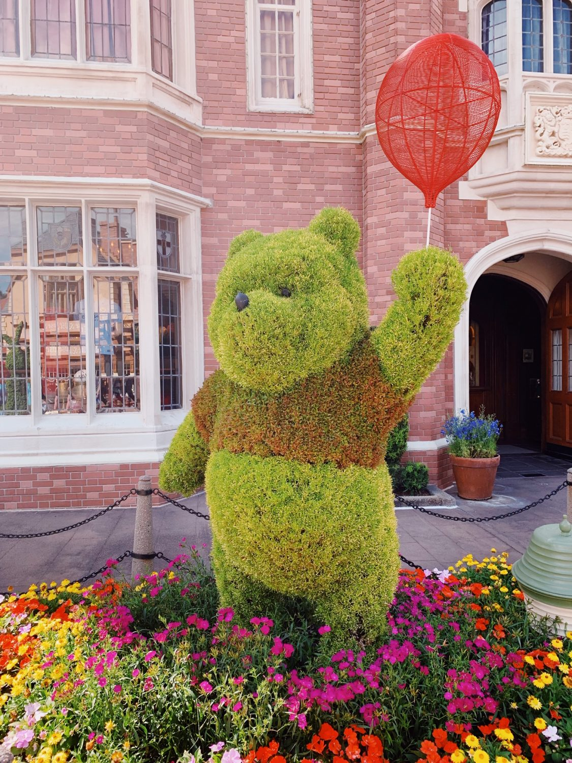 Epcot International Flower & Garden Festival Winnie the Pooh Topiary