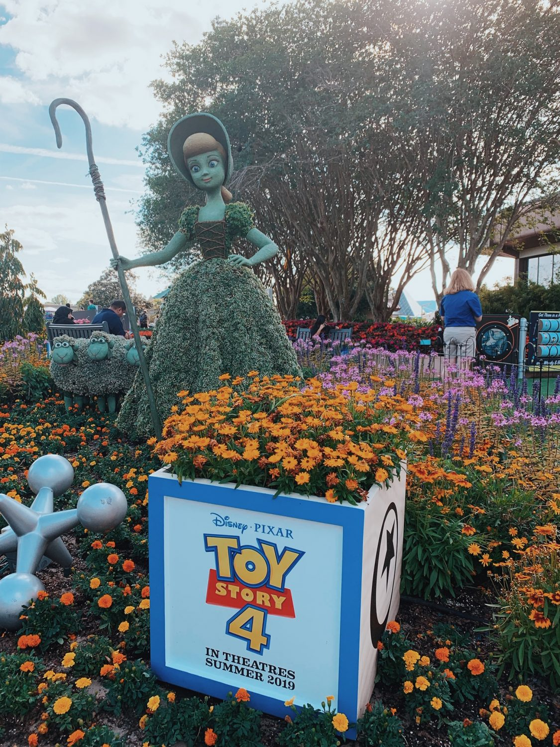 Epcot International Flower & Garden Festival Toy Story 4Topiary