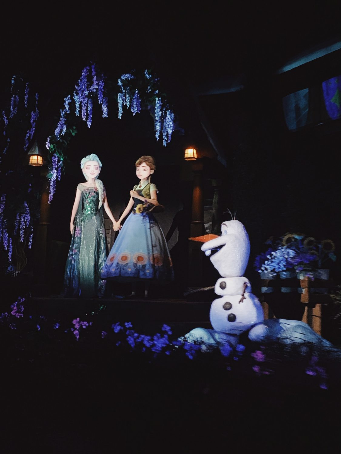 Epcot Frozen Ride Frozen Ever After ride