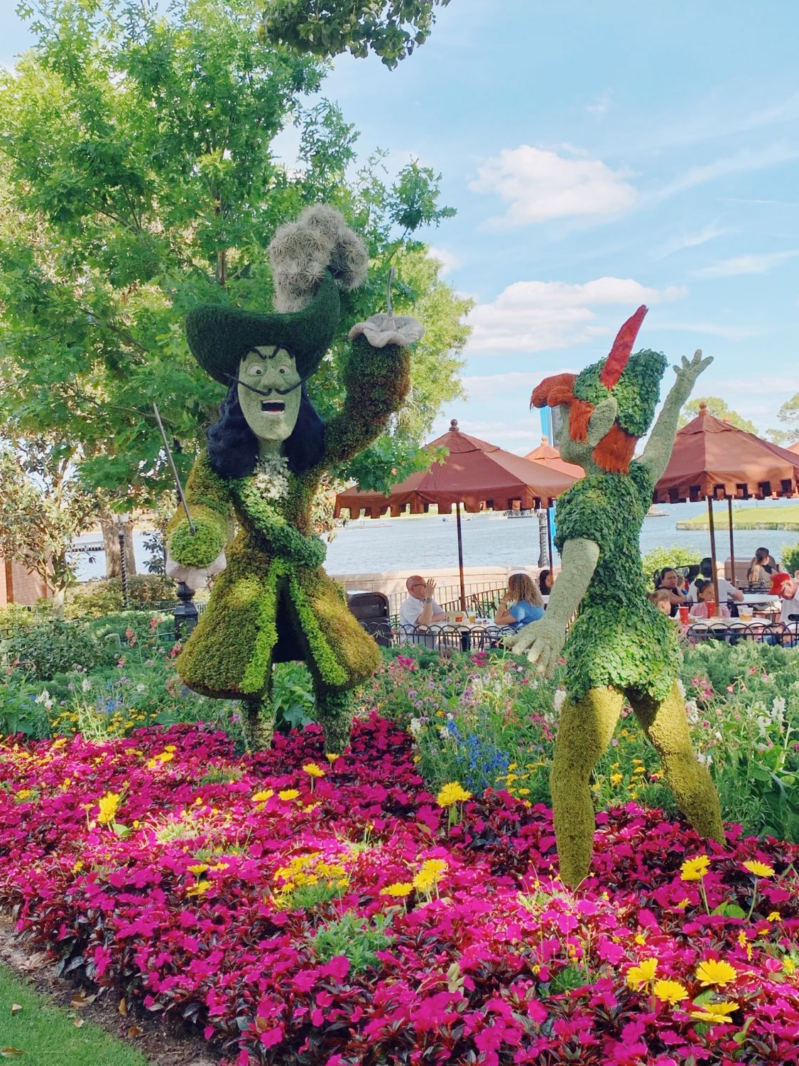 Epcot International Flower & Garden Festival Peter Pan Topiary