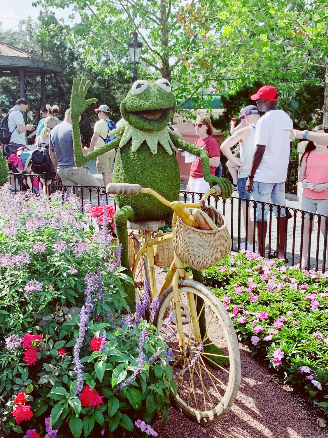 Epcot International Flower & Garden Festival Kermit Topiary
