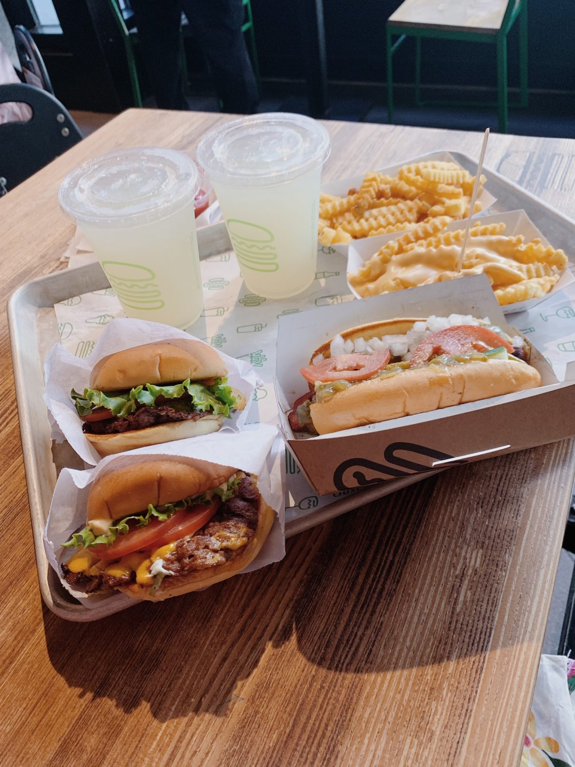 Chicago Shake Shack Burgers