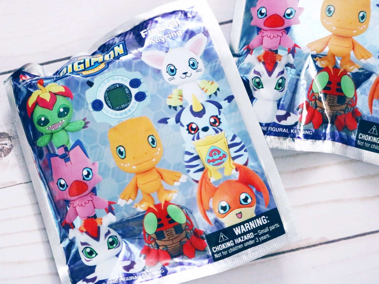 Digimon Blind Bag Figural Keyrings