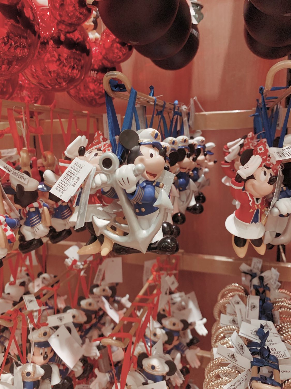 Disney Dream Disney Cruise Line Christmas Ornaments