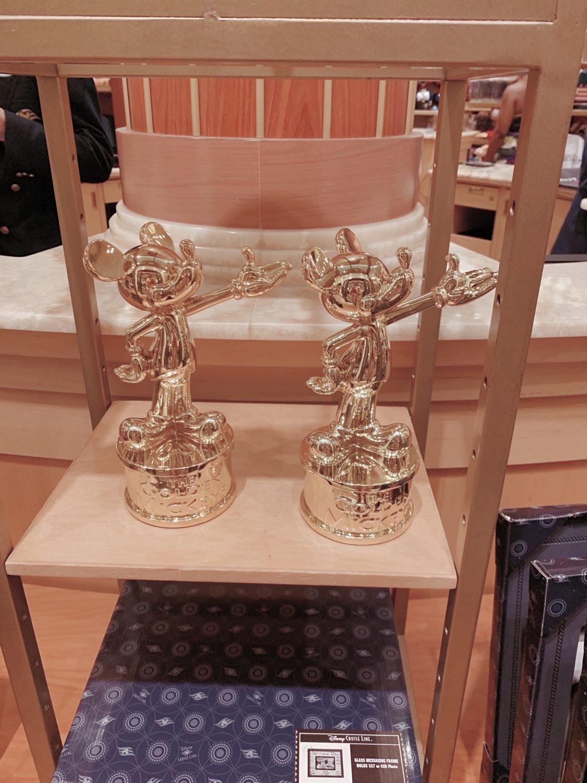 Disney Dream Disney Cruise Line Golden Mickeys Statue