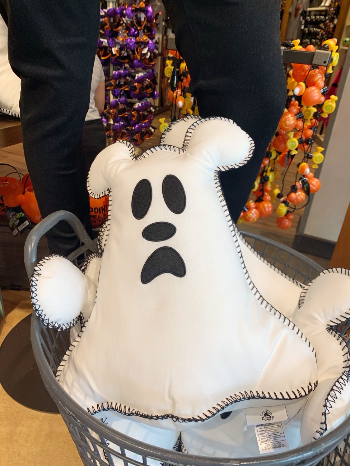 Mickey Ghost Pillow | 2019 Disney Halloween Merchandise | Disney World | World of Disney Halloween Merchandise