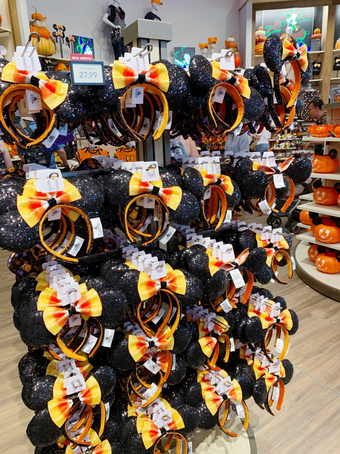 Mickey Candy Corn Ears | 2019 Disney Halloween Merchandise | Disney World | World of Disney Halloween Merchandise