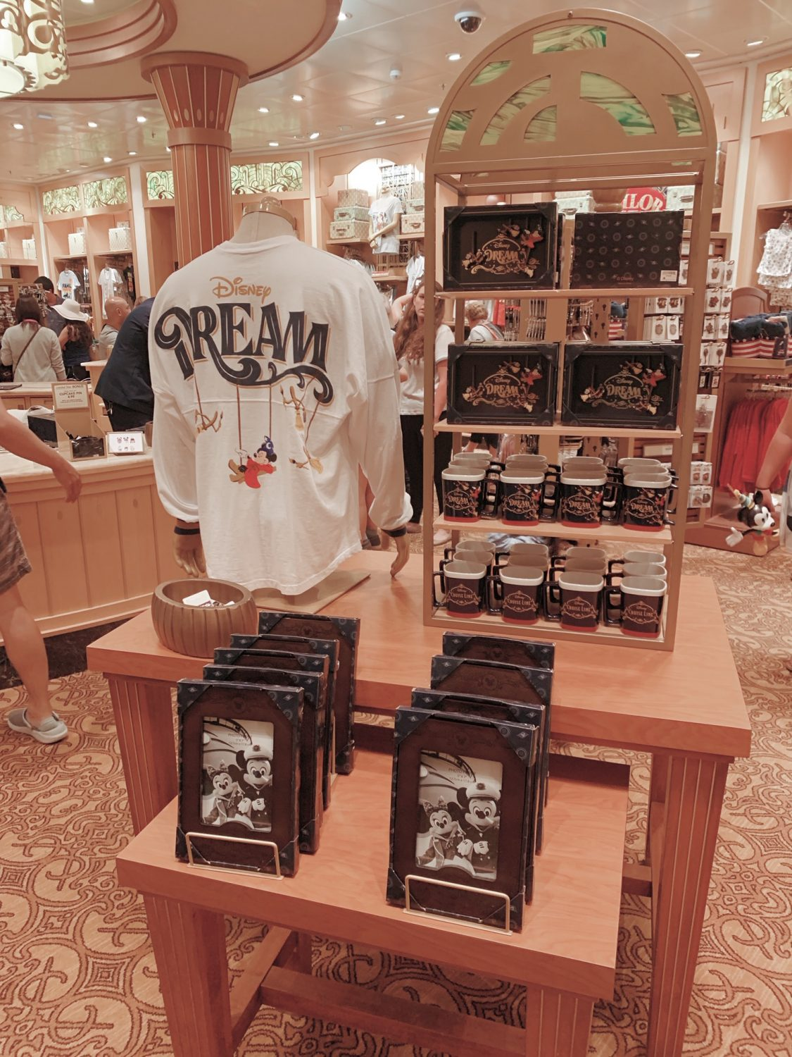 Disney Dream Spirit Jersey Disney Cruise Line