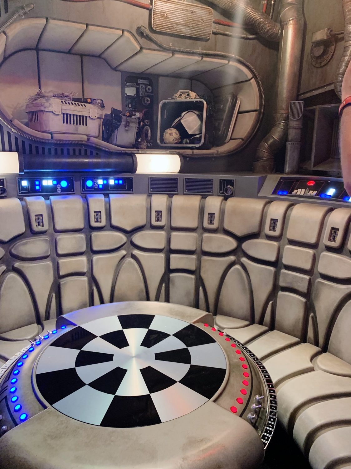 A Guide to Star Wars: Galaxy's Edge in Disney World Millennium Falcon: Smugglers Run holochess table