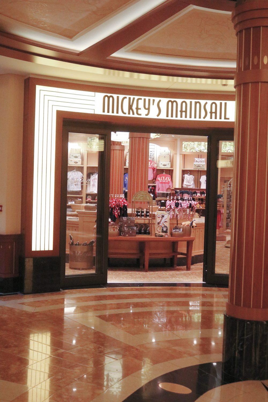 Disney Dream Disney Cruise Line Merchandise Mickey's Mainsail