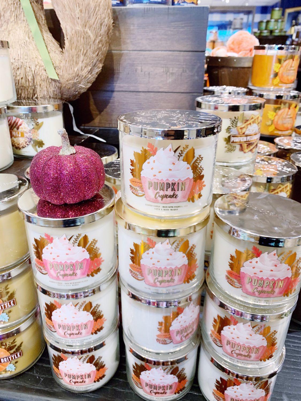 Bath & Body Works Pumpkin Cupcake