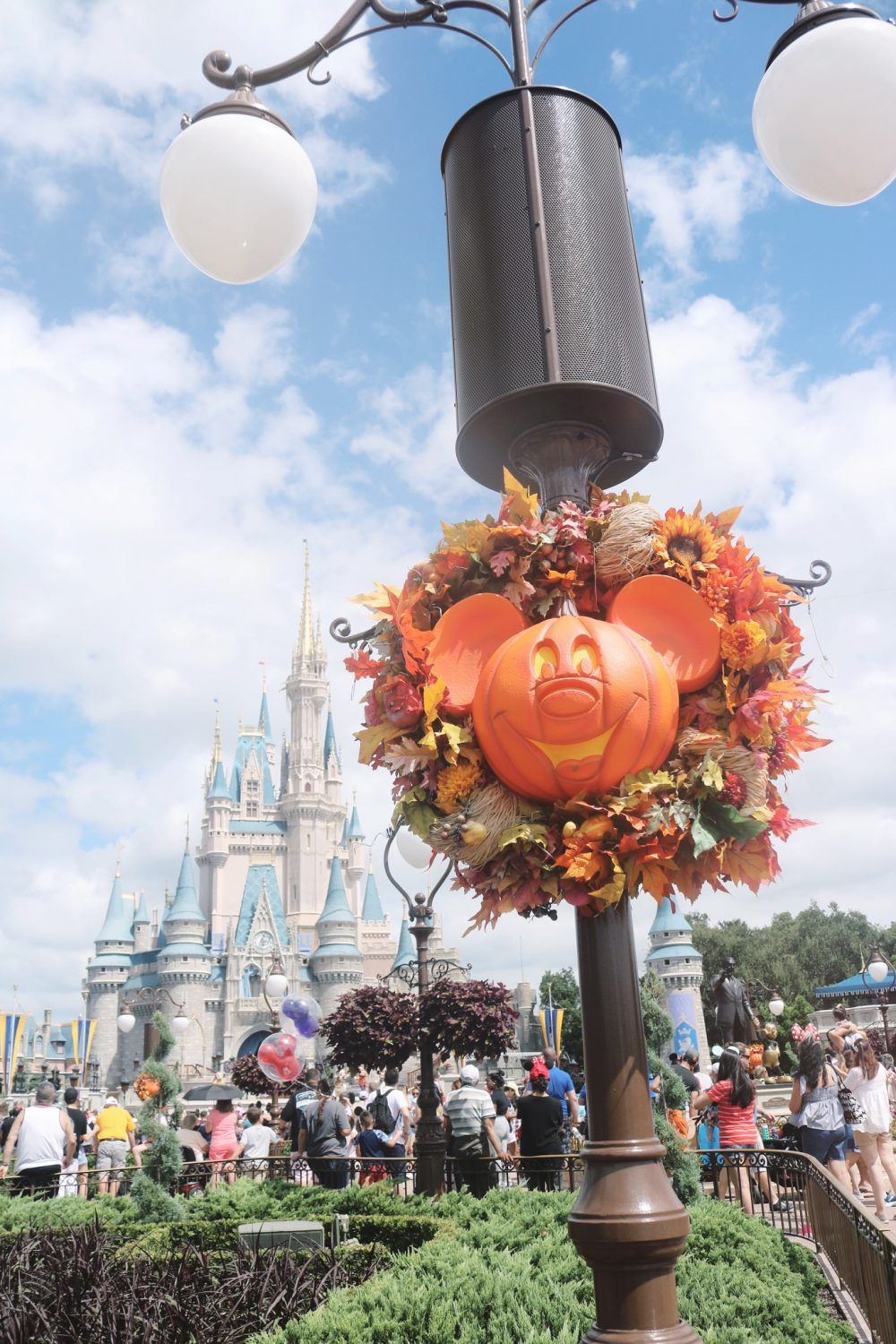 Disney World During Halloween-time