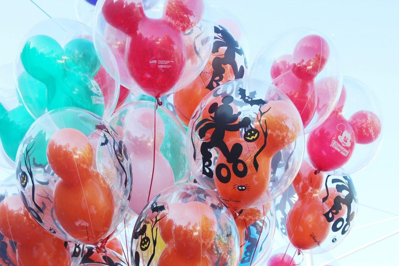 Disneyland Halloween Balloons