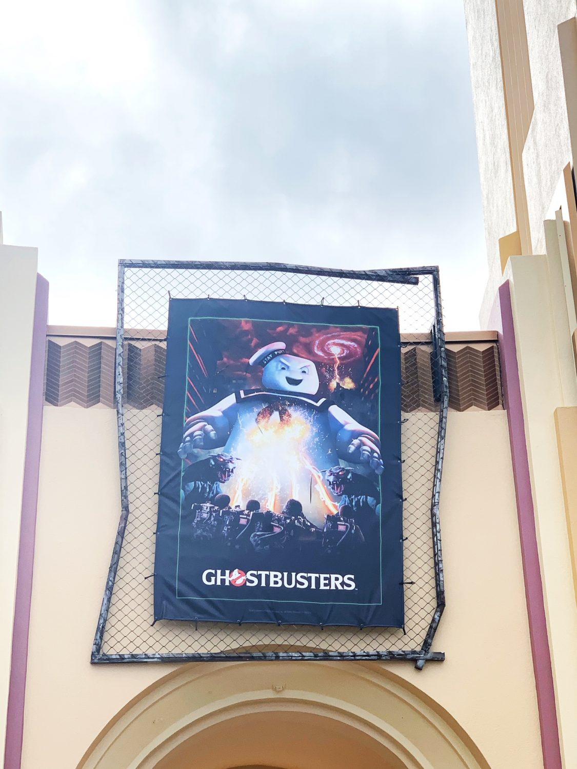 Halloween Horror Nights Ghostbusters House
