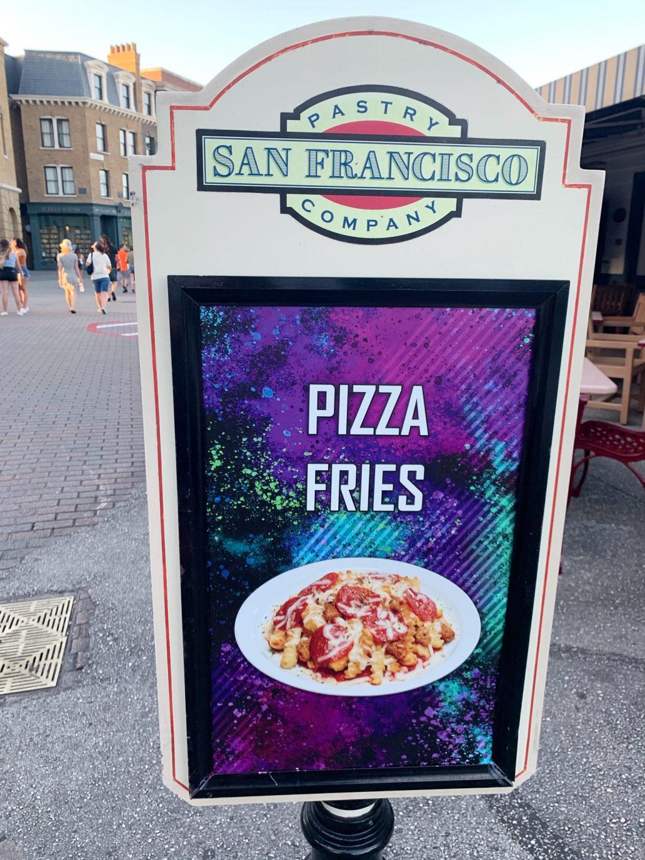 Halloween Horror Nights Pizza Fries