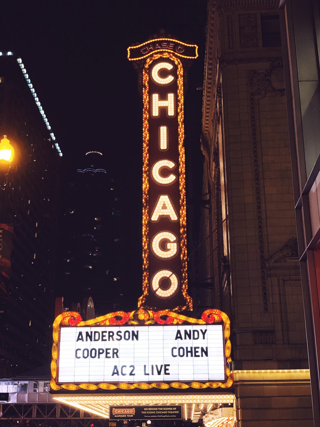 An Intimate Evening With Anderson Cooper and Andy Cohen Chicago