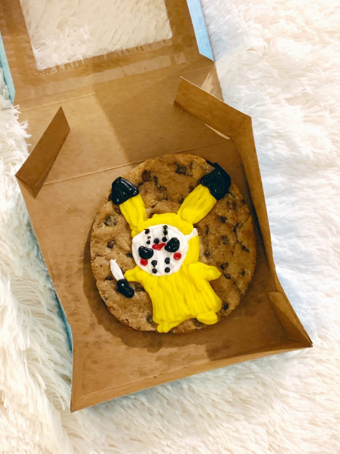 Mrs Fields Halloween Pikachu Cookie Cake