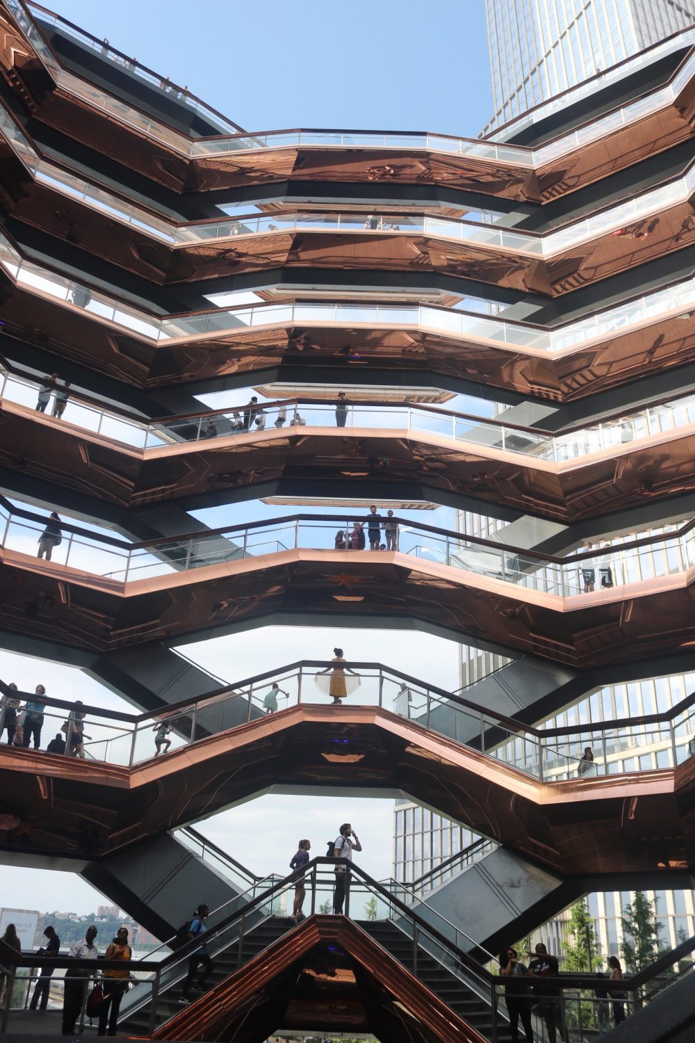 What to Do, Eat and See in NYC: The Vessel at Hudson Yards