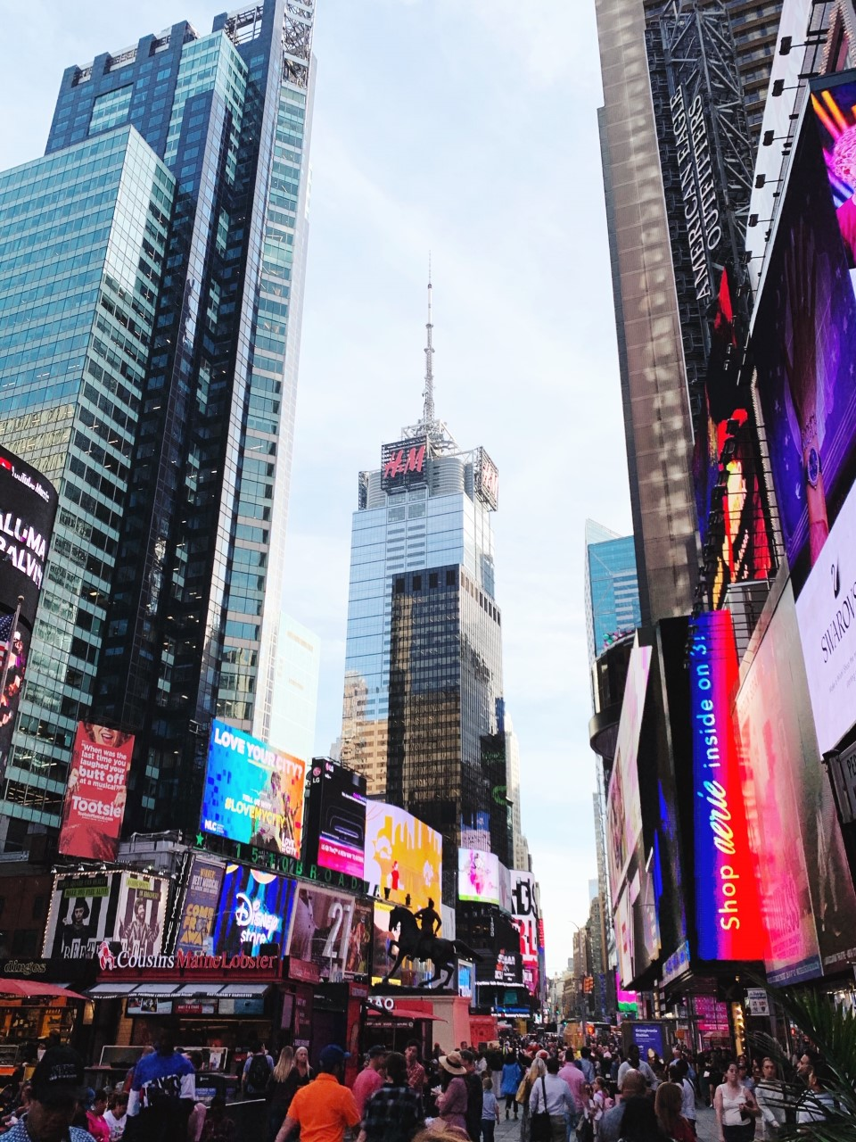 What to Do, Eat and See in NYC: Explore Times Square