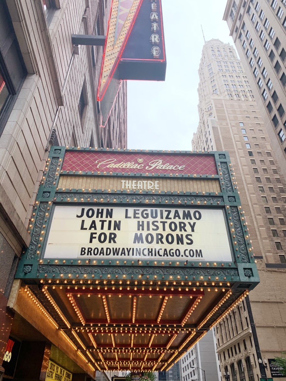 John Leguizamo Latin History for Morons Broadway in Chicgao