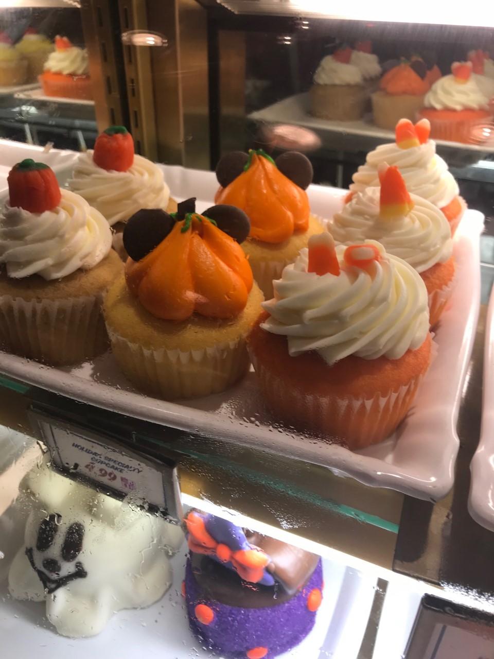 Disney World Halloween Cupcakes