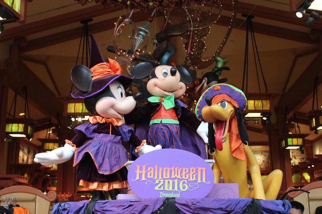 Disneyland During Halloween time