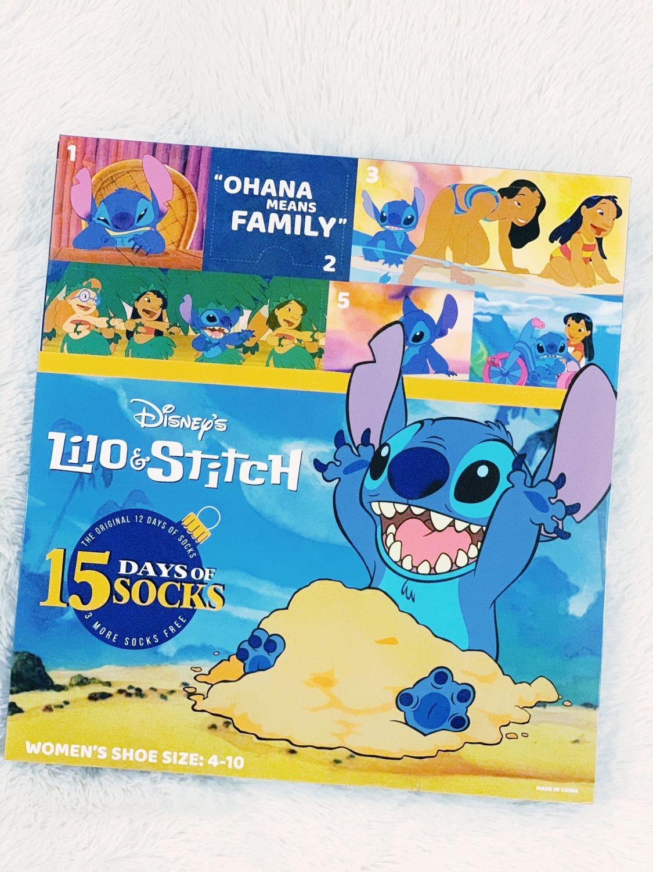 Lilo & Stitch sock advent calendar