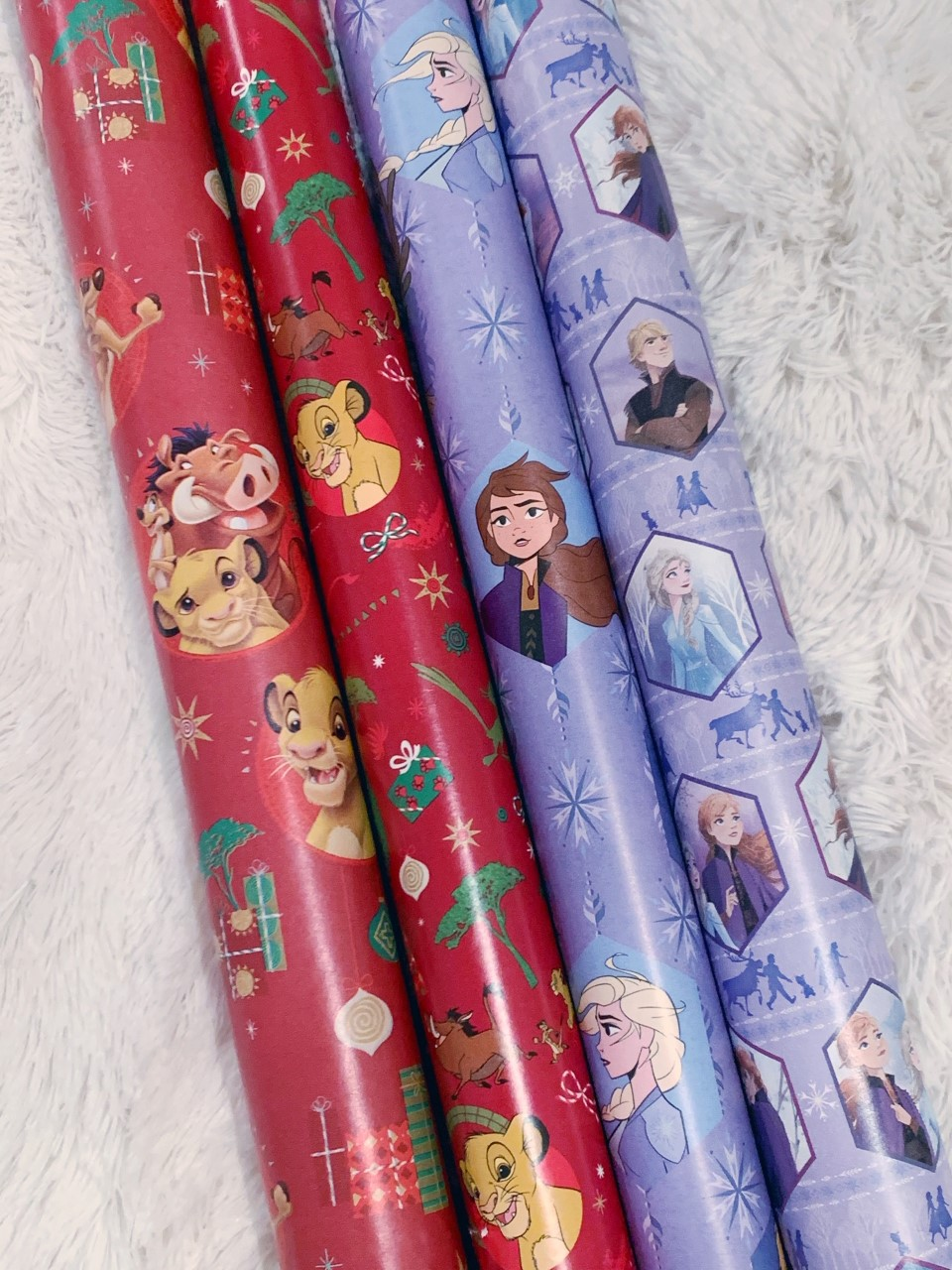 Frozen 2 Christmas Wrapping Paper