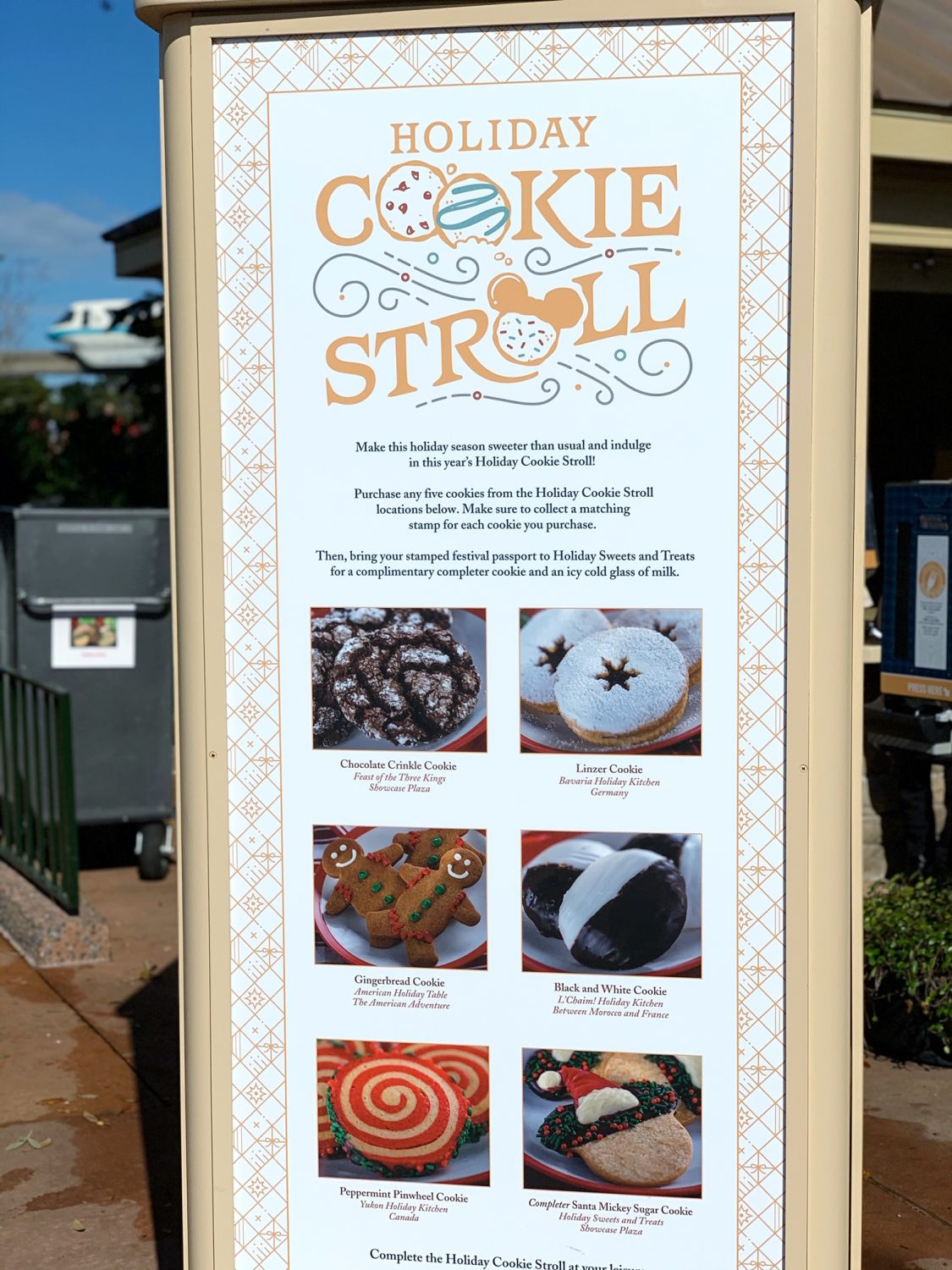2019 Epcot International Festival of the Holidays Cookie Stroll