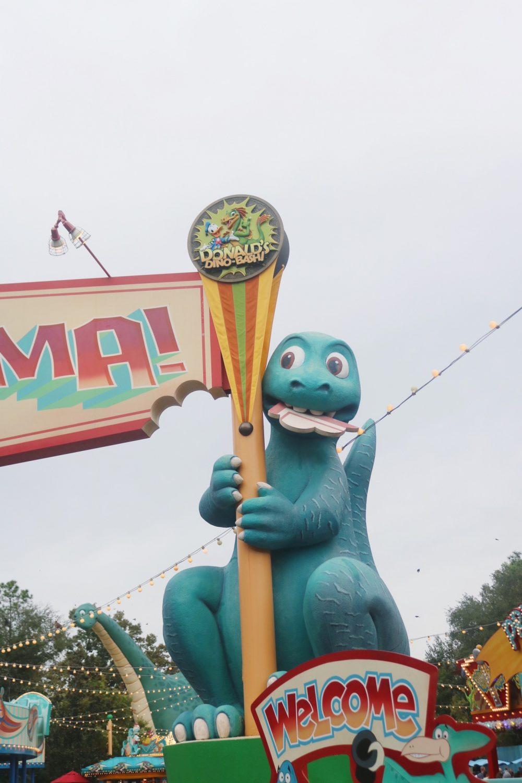 Disney's Animal Kingdom During Christmastime