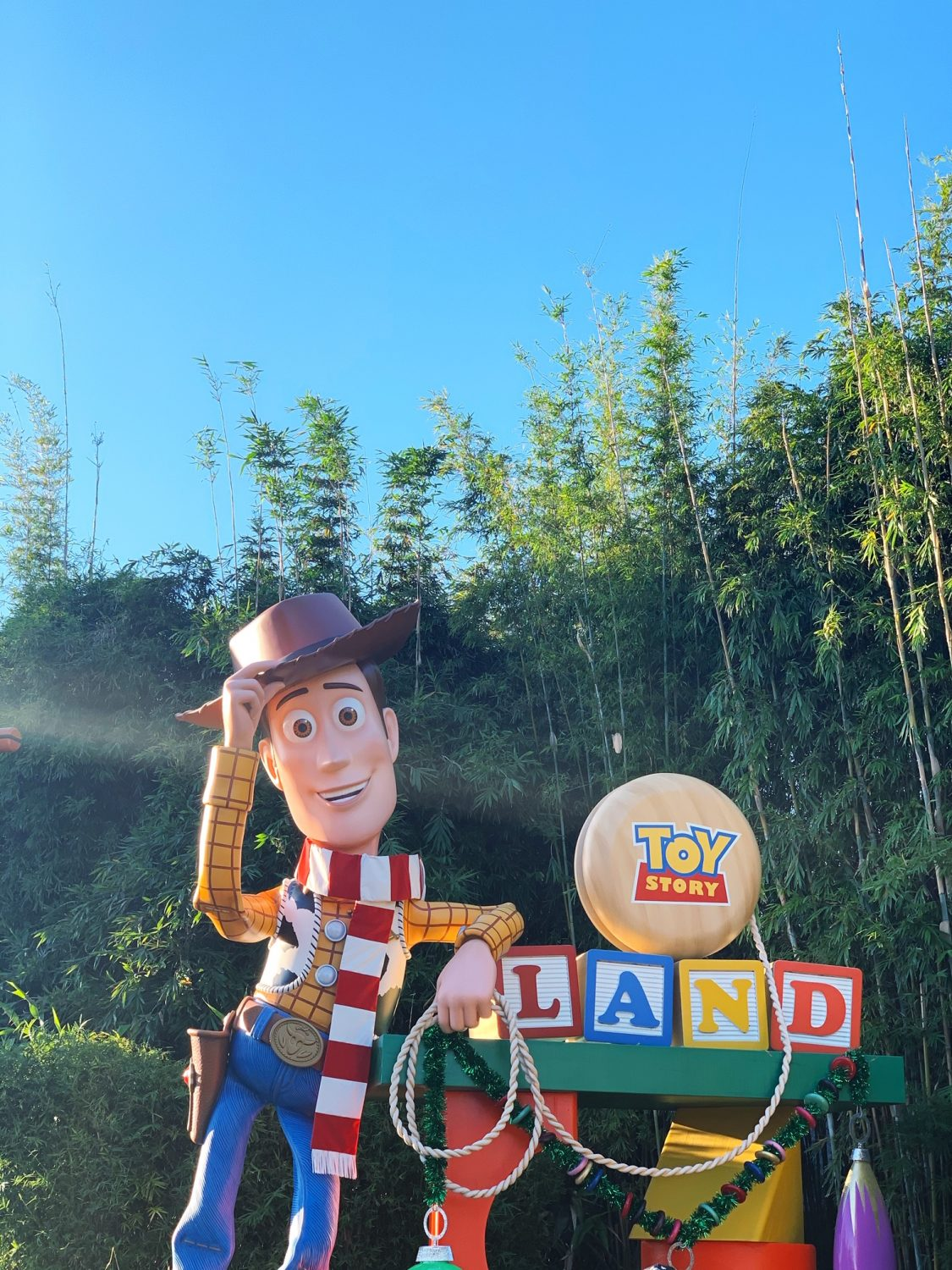 Toy Story Land Hollywood Studios During Christmastime