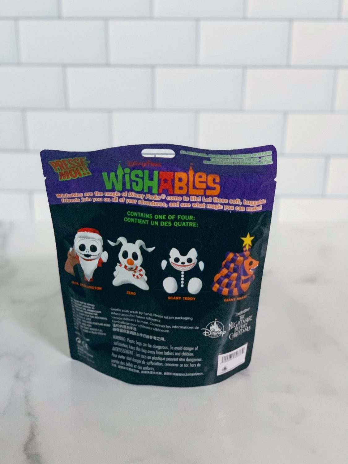 Disney Parks Wishables Haunted Mansion Holiday Series