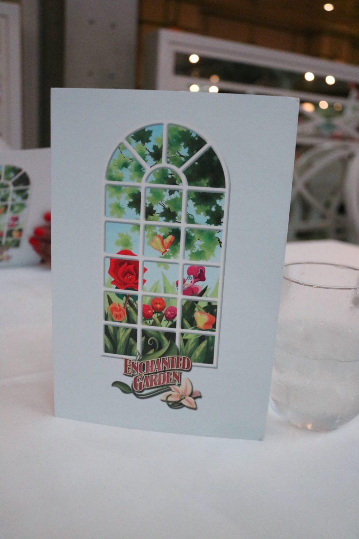 Disney Cruise Line Enchanted Garden Dessert