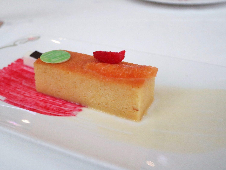 Disney Cruise Line Enchanted Garden Orange Yogurt Cake