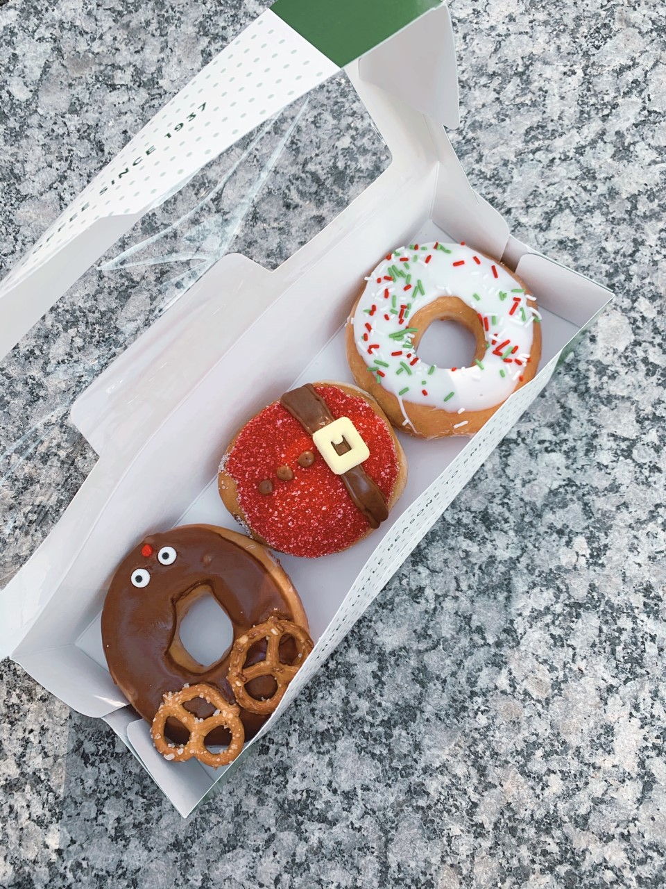 Krispy Kreme Holiday Donuts