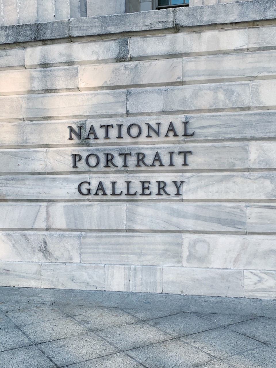 Visiting the National Portrait Gallery in Washington, D.C.