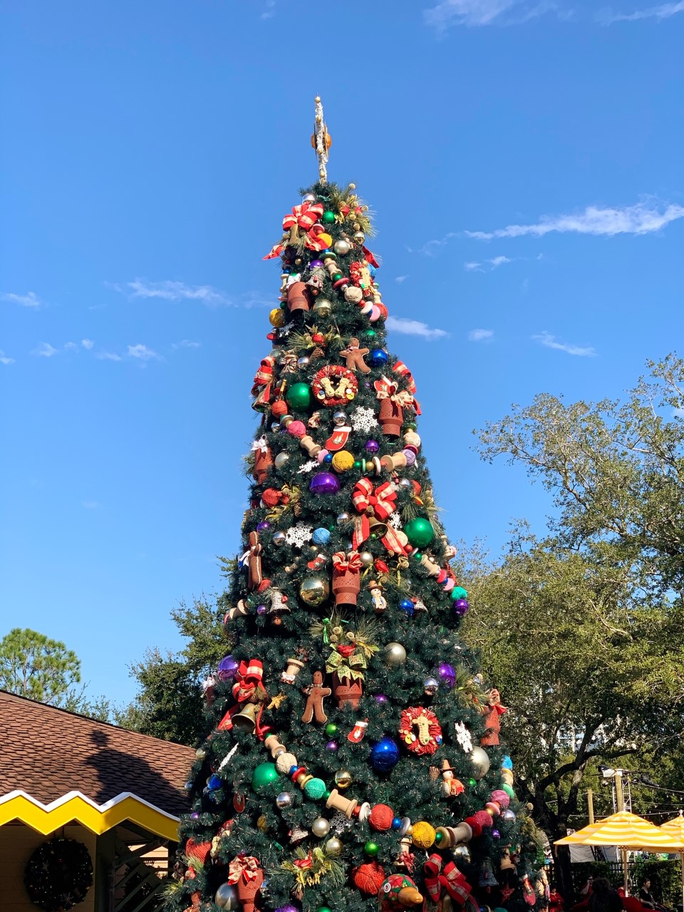 Disney Springs During Christmastime