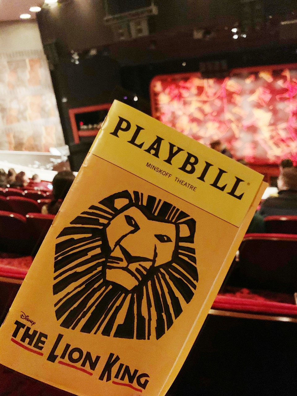 The Lion King Minskoff Theatre