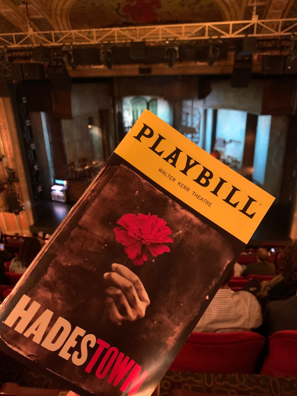 Hadestown Playbill