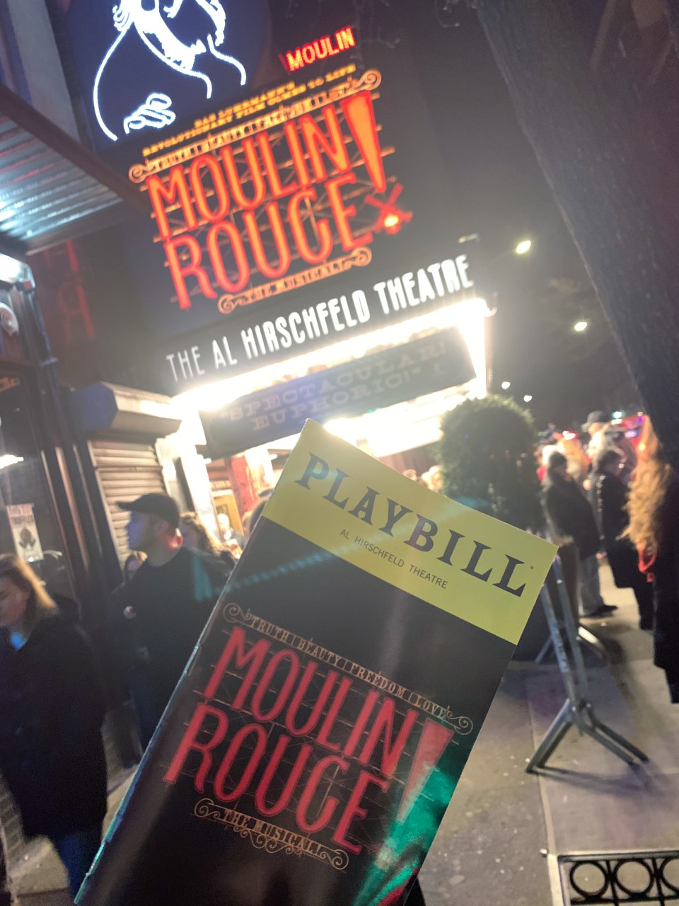 Moulin Rouge! The Musical Playbill