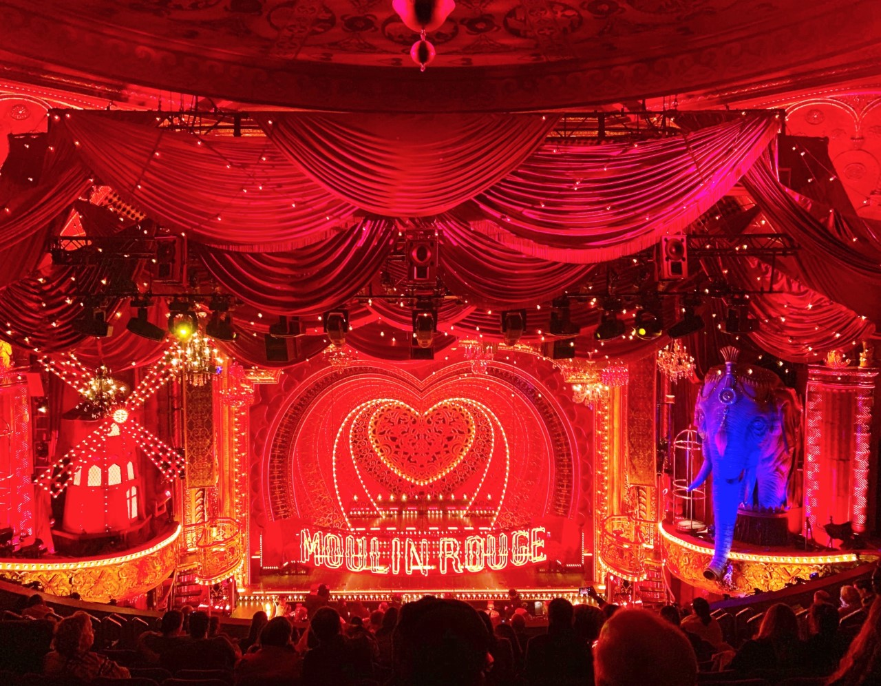 Moulin Rouge The Musical Stage Design