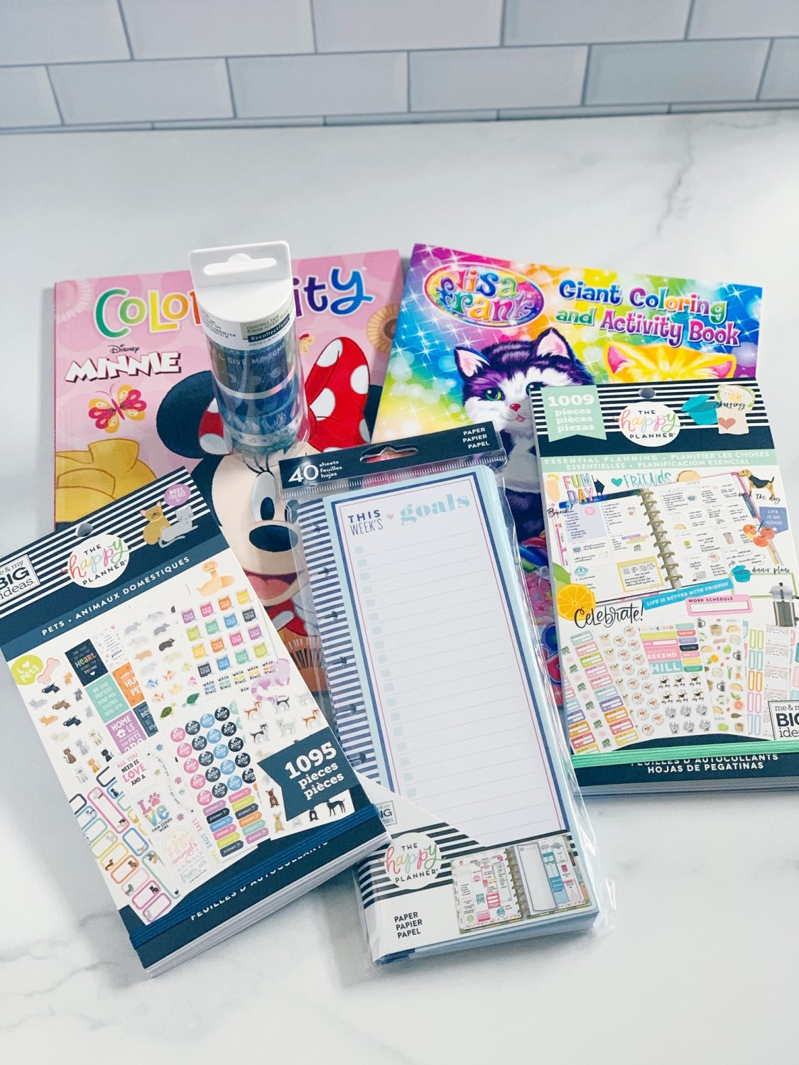 Michaels Planner Haul