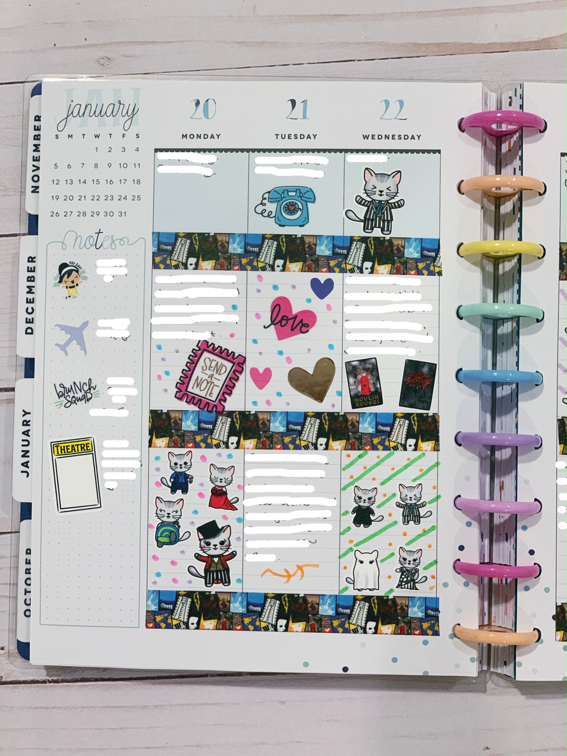 The Happy Planner Weekly Planner Spreads