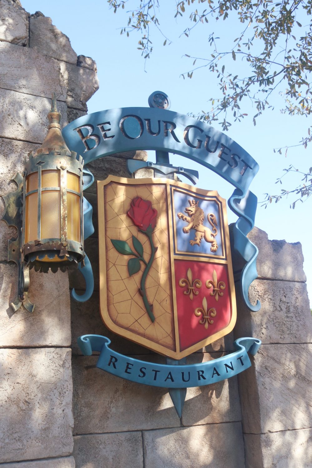 Beauty and the Beast Restaurant Be Our Guest Restaurant