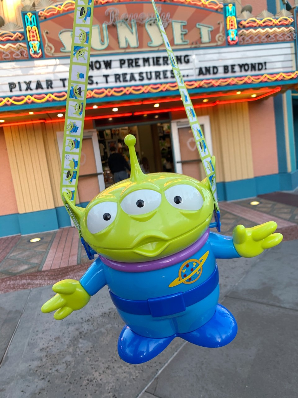 Toy Story Green Alien Popcorn Bucket